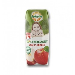 "100% apple juice ""Solevita"", 250 ml"
