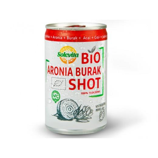 "BIO Organic aronia & beetroot shot ""Solevita"", 150 ml"