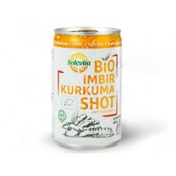 "BIO Organic ginger & turmeric shot ""Solevita"", 150 ml"