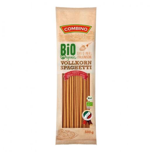 "BIO Organic wholegrain Italian spaghetti ""Combino"", 500 g"