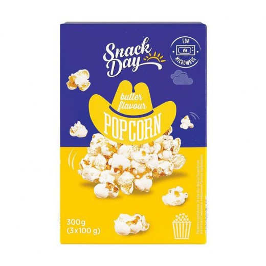 "Butter popcorn ""Snack day"", 300 g"