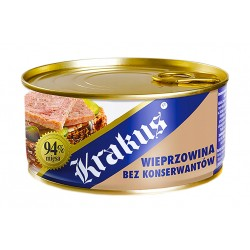 """Pork in its own juice """"Krakus"""", 300 g"""
