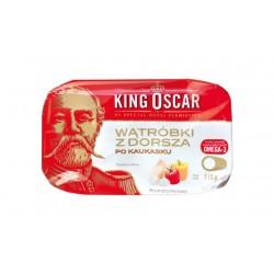 "Caucasian style cod liver ""King Oscar"", 115 g"