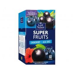 "Chokeberry & acai juice Super Fruits tea ""Lord Nelson"", 20 pcs"