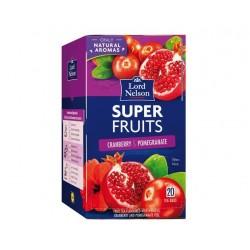 "Cranberry & pomegranate Super Fruits tea ""Lord Nelson"", 20 pcs"