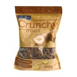 """Crunchy muesli with hazelnuts & chocolate """"Crownfield"""", 350 g"""