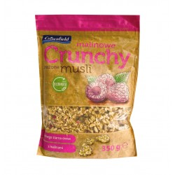 "Crunchy muesli with natural raspberry ""Crownfield"", 350 g"