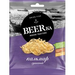 """Dried & jerked squid """"Beerka"""", 70 g"""