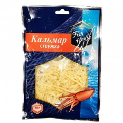 """Dried squid chips """"Fish House"""", 70 g"""