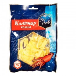 """Dried squid rings  """"Fish House"""", 70 g"""
