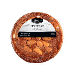 "Fig bread with almonds ""Deluxe"", 200 g"