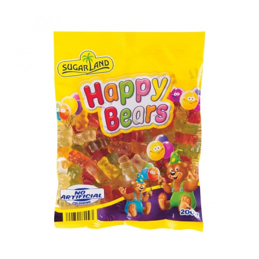"Fruit happy bears gummies ""Sugarland"", 200 g"