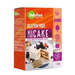 "Gluten free flour mix for cake ""Balviten"", 1 kg"
