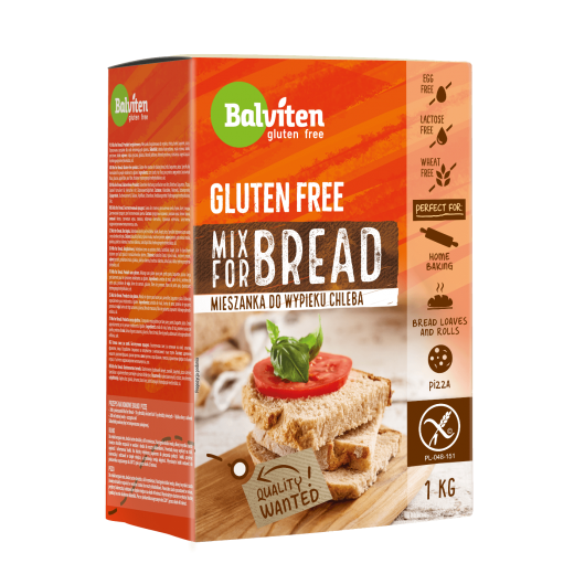 "Gluten free flour mix for bread ""Balviten"", 1 kg"