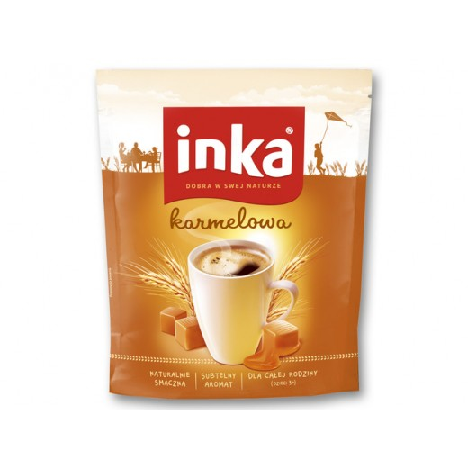 "Grain instant coffee with caramel ""Inka"", 200 g"