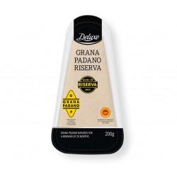 "Grana Padano riserva cheese ""Deluxe"", 200 g"