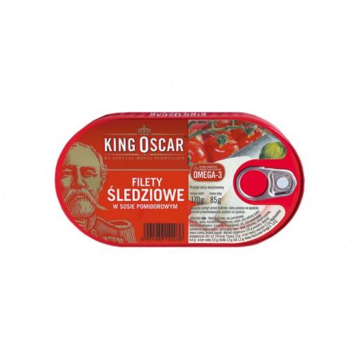 "Herring fillets in tomato sauce ""King Oscar"", 170 g"