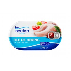 "Herring fillets in tomato sauce ""Nautica"", 170 g"