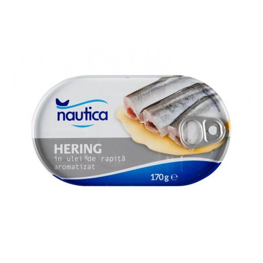 "Herring in oil ""Nautica"", 170 g"
