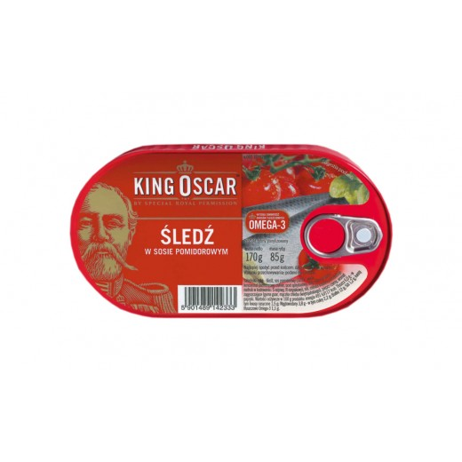 "Herring in tomato sauce ""King Oscar"", 170 g"