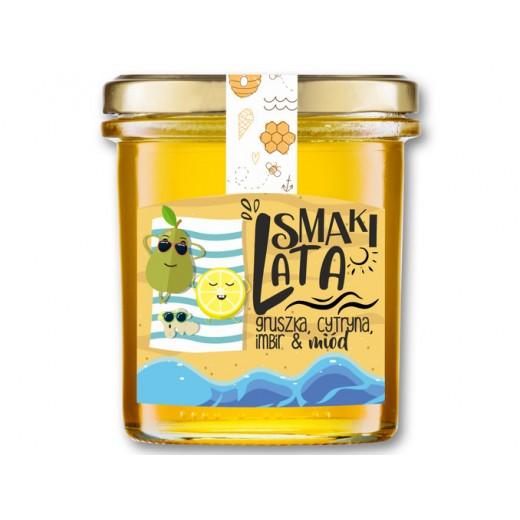 """Pear, lemon, ginger & honey """"Smaki Lata"""", 400 g"""