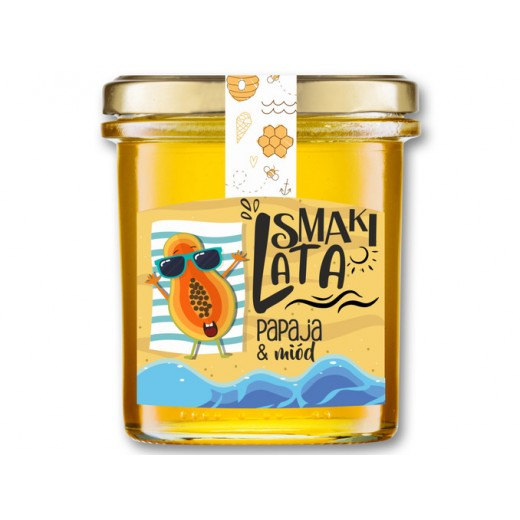 "Papaya & honey ""Smaki Lata"", 400 g"