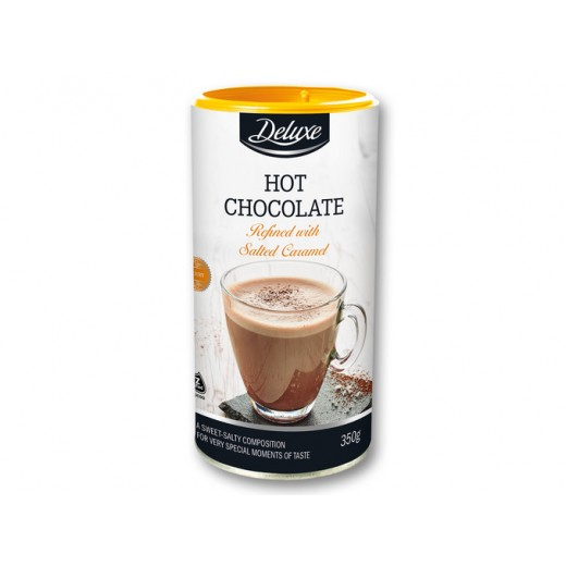 """Hot chocolate refined with salted caramel """"Deluxe"""", 350 g"""