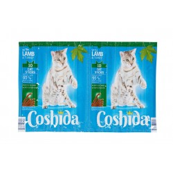"Lamb & Turkey cat sticks ""Coshida"", 10 pcs"