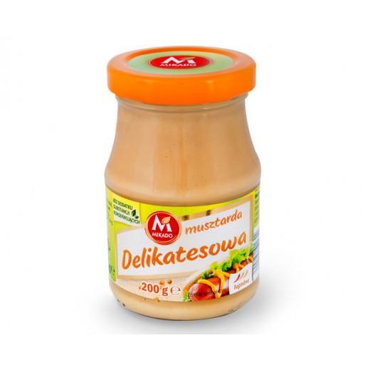 "Light mustard sauce ""Mikado"", 200 g"