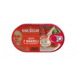 "Mackerel fillets in tomato sauce ""King Oscar"", 170 g"