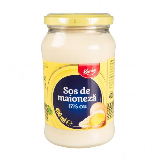 "Mayonnaise with egg yolks from free range chickens ""Kania"", 400 ml"