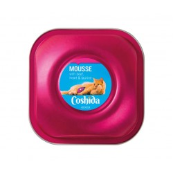 "Premium cat mousse with beef, heart & taurine ""Coshida"", 90 g"