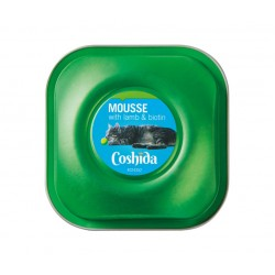 "Premium cat mousse with lamb & biotin ""Coshida"", 90 g"