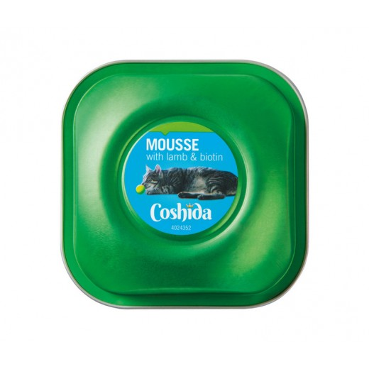 """Premium cat mousse with lamb & biotin """"Coshida"""", 90 g"""