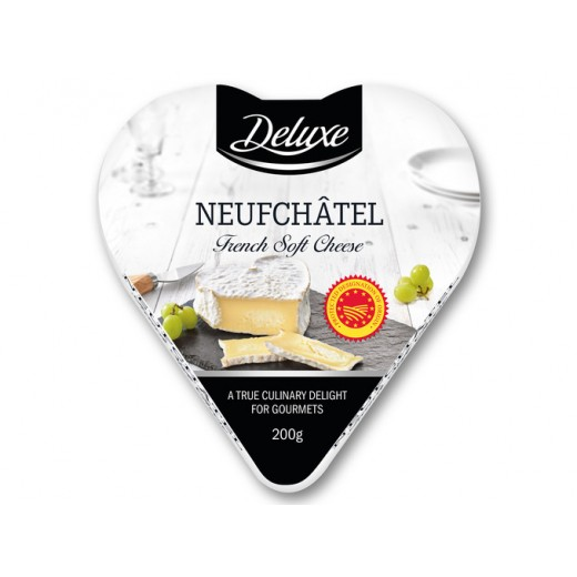 """Neufchâtel soft cheese """"Deluxe"""", 200 g"""