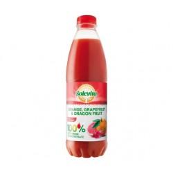 """Orange, grapefruit & dragon fruit juice """"Solevita"""", 1 L"""