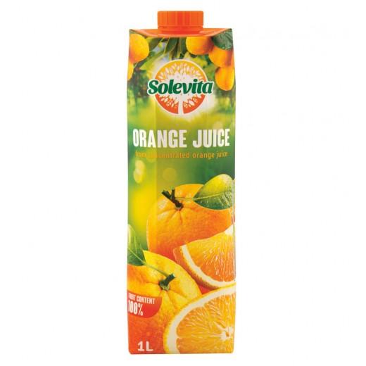 """100% orange juice """"Solevita"""", 1L"""