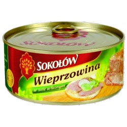 "Pork with own sauce ""Sokolow"", 300 g"