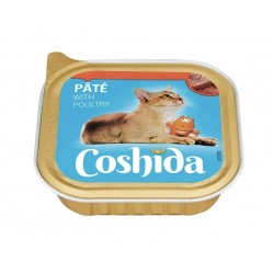 "Premium cat pate with poultry ""Coshida"", 100 g"