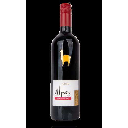 "Red dry wine 13% Cabernet Sauvignon ""Alpaca"", 750 ml"