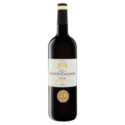 "Red dry wine 13.5% ""Croix Sainte Colombe, Fitou AOP"", 750 ml"