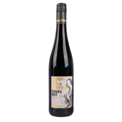 """Red dry wine 13.5% """"Cuvée Rot, Liquid Love Edition"""", 750 ml"""