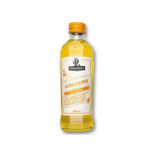 "Refined & virgin olive oil for cooking ""Primadonna"", 500 ml"