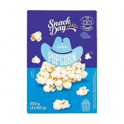 "Salted popcorn ""Snack day"", 300 g"