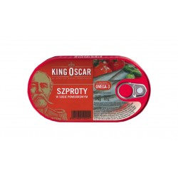 "Sprats in tomato sauce ""King Oscar"", 170 g"
