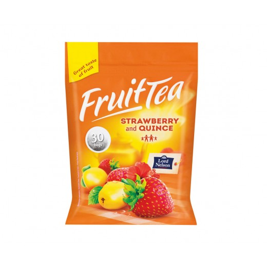 """Strawberry & quince fruit tea """"Lord Nelson"""", 30 pcs"""