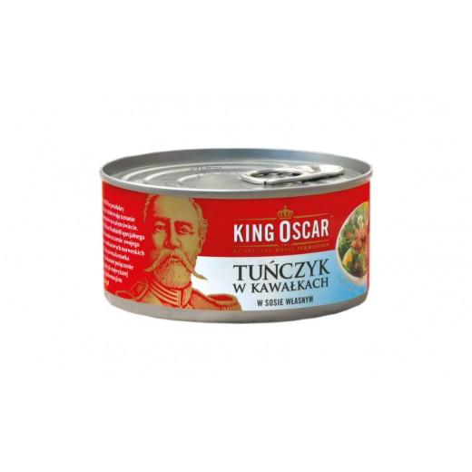 """Tuna chunks in own juice """"King Oscar"""", 170 g"""