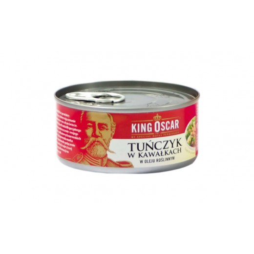 "Tuna chunks in vegetable oil ""King Oscar"", 170 g"