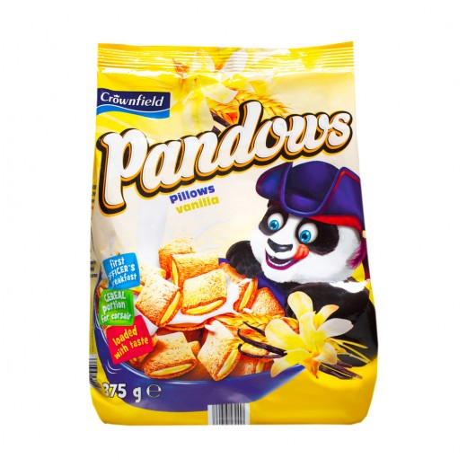 "Vanilla breakfast pillows ""Crownfield"" Pandows, 375 g"