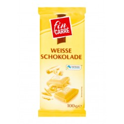 "White chocolate ""Fin Carre"", 100 g"